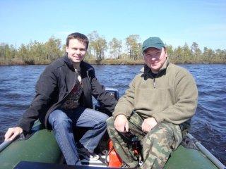 Виталий Шумов и Дмитрий Ташкинов